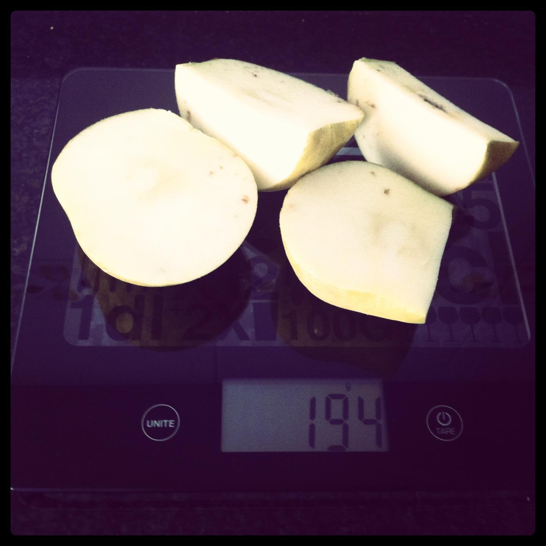 cuantas calorias tiene un banano mediana