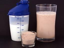 batido proteína