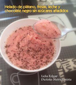 Subido a Receta de helados sanos