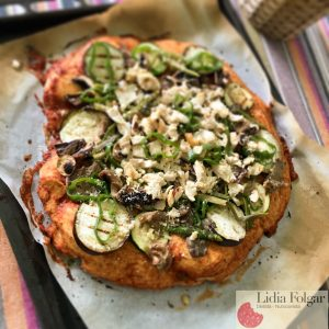Versión sana de la pizza de Telepizza